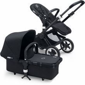Picture of Bugaboo Buffalo Black Frame With Black Fabric set