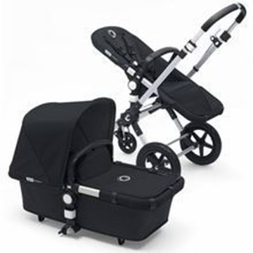 Picture of Bugaboo Cameleon Silver Frame with Black Fabric set