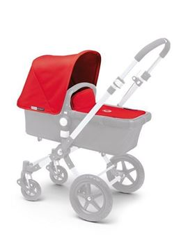 Picture of Bugaboo Cameleon3 tailored fabric set Red (ext)