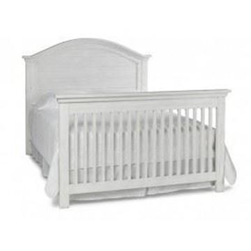 Picture of Dolce Baby Lucca Full Bed (HB+FB) Sea Shell White