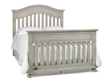 Picture of Dolce Baby Naples FULL BED (HB+FB) Grey Satin