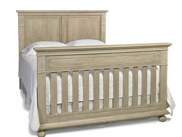 Picture of Dolce Baby Naples TWIN BED (HB+FB) Driftwood