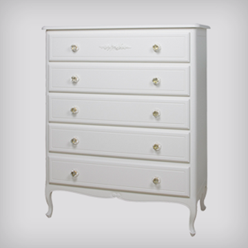 Picture of Art For Kids Park Ave French 5 Drawer Dresser