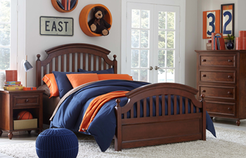 Picture of Legacy Kids Academy Complete Panel Bed, Full 4/6