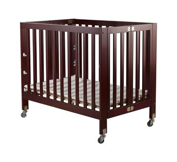 Picture of Orbelle ROXY Portable Crib Cherry