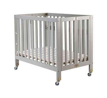Picture of Orbelle ROXY Portable Crib Gray