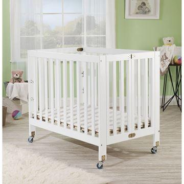 Picture of Orbelle ROXY Portable Crib White