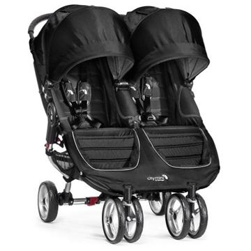 Picture of Baby Jogger City Mini Double - Black/Gray