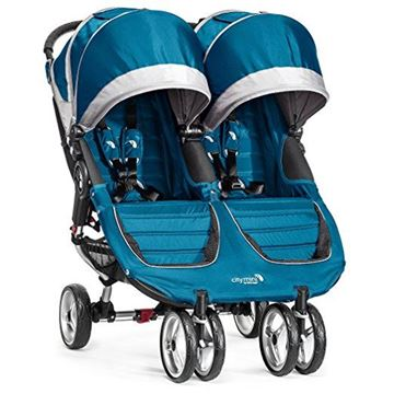 Picture of Baby Jogger City Mini Double - Teal/Gray