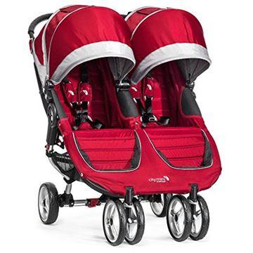 Picture of Baby Jogger City Mini Double - Crimson/Gray