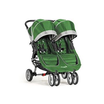 Picture of Baby Jogger City Mini Double - Evergreen/Gray