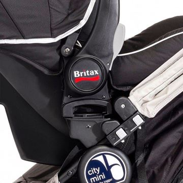 Picture of Baby Jogger Car Seat Adapter - Mounting Bracket Single- Britax/BOB